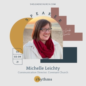 Michelle featured as speaker at She Leads Church 2021